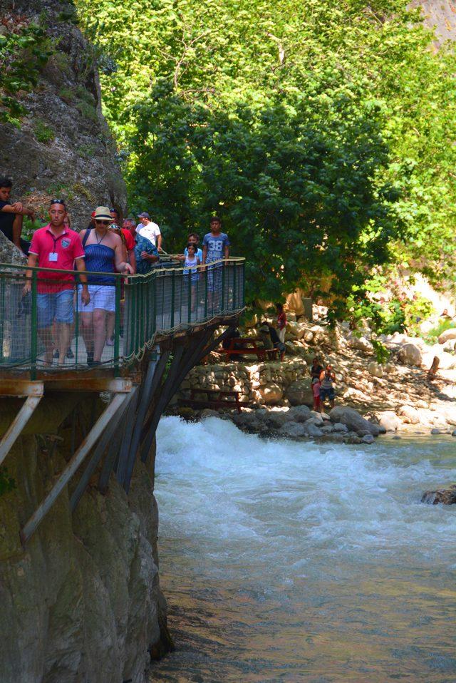 Saklıkent Kanyonu'na 482 bin ziyaretçi