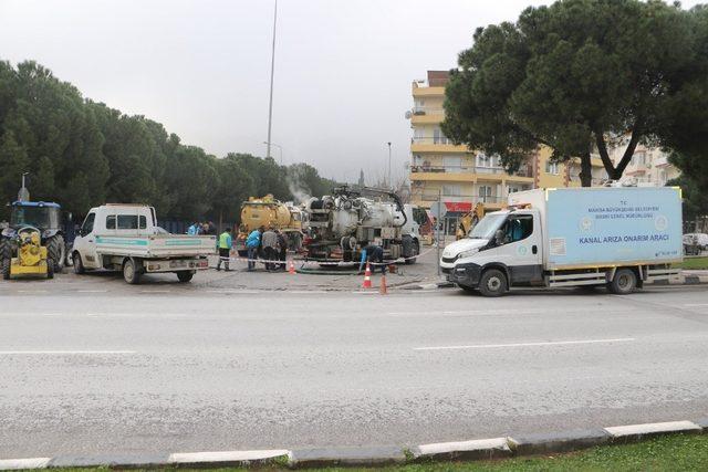 Uncubozköy'deki kanalizasyon sıkıntısı çözüldü