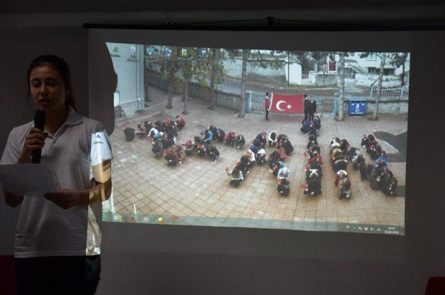Zeytin Dalı Harekatı şehitleri için Sivrihisar'da anma etkinliği