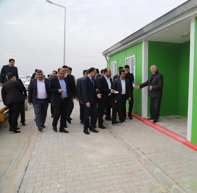 Siverek'te katı atık istasyonu hizmete açıldı