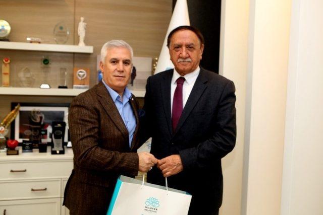 CHP Ağrı İl Başkanı'ndan Bozbey'e ziyaret