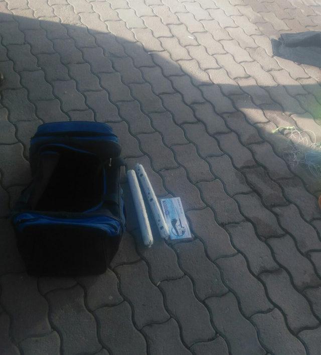 Otobüste valizinde dinamit bulunan yolcu tutuklandı