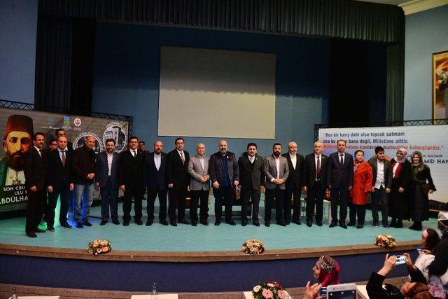 Altıeylül'de  Abdülhamit Han konferansı