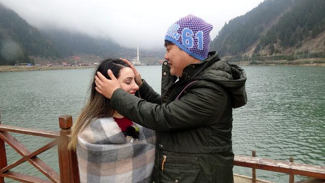 Trabzon'a Koreli damat