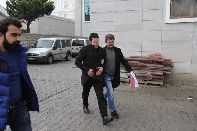 Samsun'da silah kaçakçılığı operasyonu: 9 gözaltı