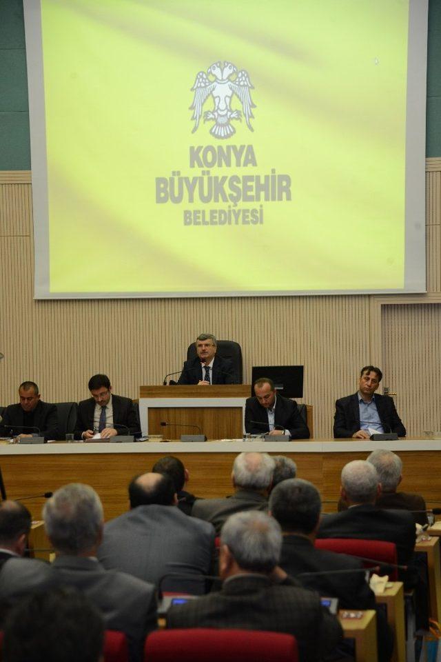 """Başkan Akyürek: """"Yeni dönemde şehir kimliği ve estetiği ön planda olacak"""""""
