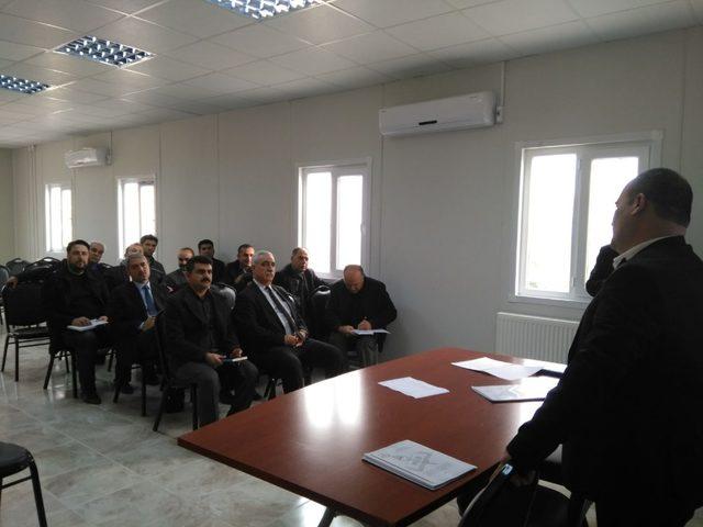 Samsat'ta öğretmenlere seminer verildi