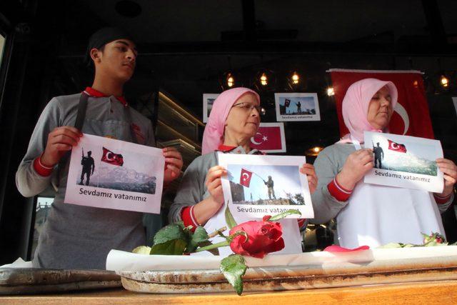 Edirne'den Mehmetçiğe Sevgililer Günü mesajı