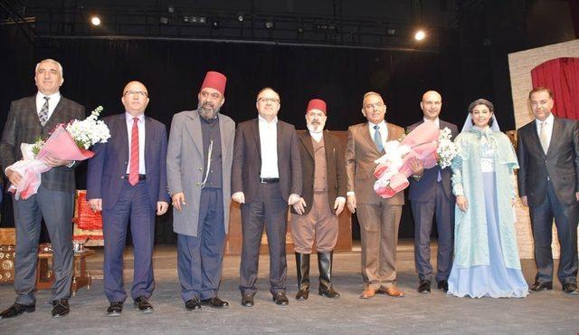 """Sultan 2. Abdülhamid Han'ın ölümünün 100. yılı anısına """"Usta"""" isimli tiyatro oyunu sahnelendi"""