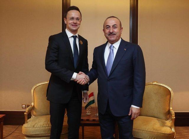 Çavuşoğlu, AB Yüksek Temsilcisi Mogherini ile görüştü