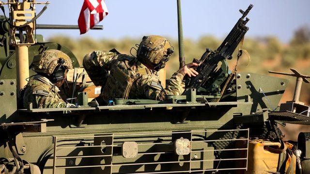Menbiç'teki ABD güçleri