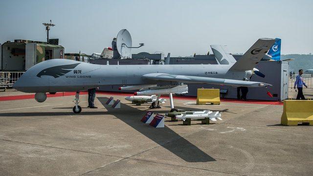 Çin'in silahlı insansız hava aracı