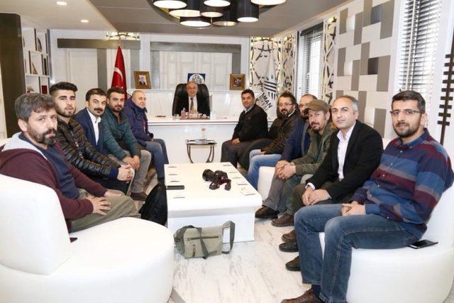 AFYOL üyeleri Başkan Kutlu ile bir araya geldi