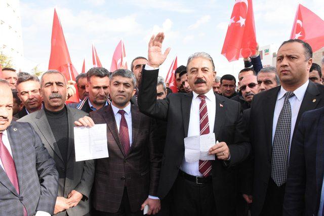 Malatyalı şoförlerden 'Zeytin Dalı Harekatı' için gönüllü askerlik başvurusu