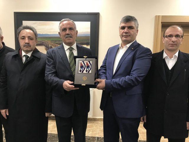 AK Parti heyetinden MUŞ TSO 'ya ziyaret