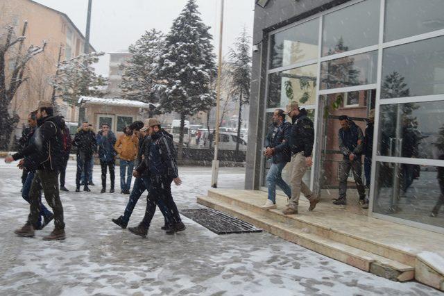 Hakkari'de, Afrin'le ilgili paylaşımlara 6 tutuklama