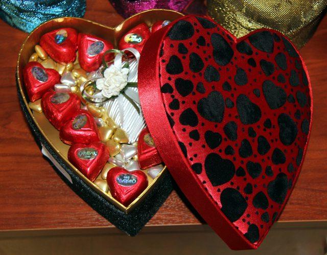 Sevgiliye özel çikolatalar ilgi gördü
