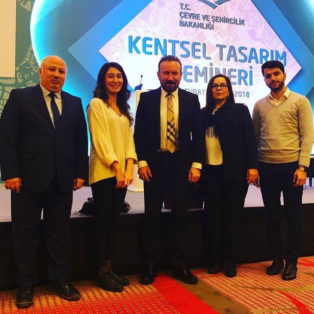 Başkan Doğan Kentsel Tasarım Seminerine katıldı