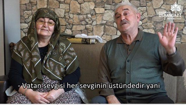 ESOGÜ'den 14 Şubat'a özel 'Tek Sevdamız Vatan' videosu
