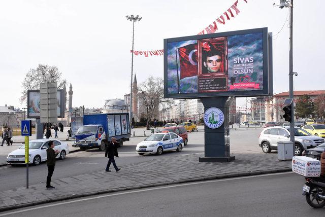 Sivas'ta '14 Şubat'ta sevgilimiz Mehmetçik olsun' kampanyası