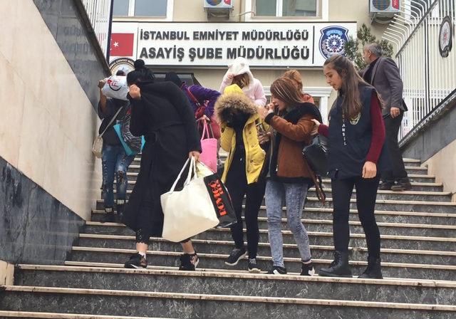 İstanbul'da büyük fuhuş operasyonu... Çete üyesi 3'ü kadın 17 kişi gözaltına alındı, 134 kadın kurtarıldı