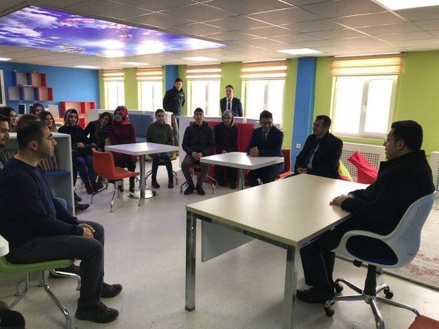 Kaymakam Özcan'dan okul ziyareti