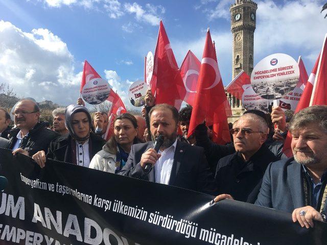 Memur- Sen İzmir'den Zeytin Dalı Harekatı' tam destek