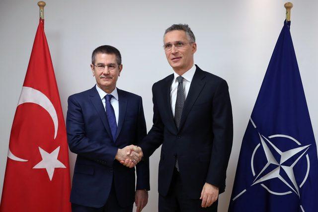 Mili Savunma Bakanı Brüksel'de NATO Genel Sekreteri ile görüştü