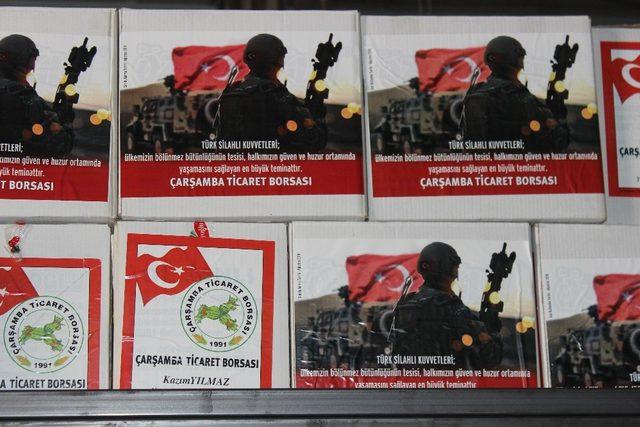 Mehmetçiğe 'fındık' dopingi