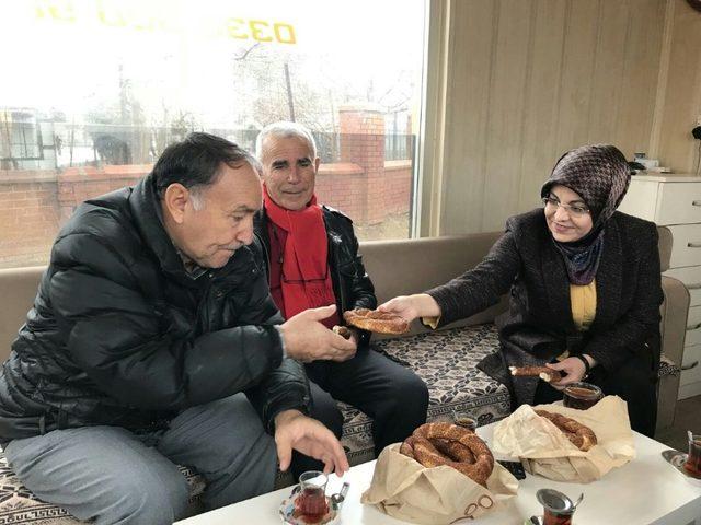 Başkan Toru, esnaf ziyaretlerini sürdürüyor