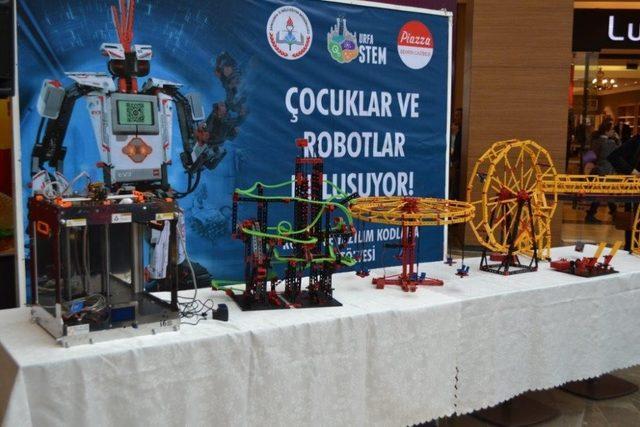 Şanlıurfalı çocuklardan robotların dünyasına yolculuk