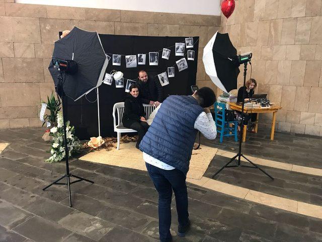 Sevgililer Günü'nde Forum Trabzon'da sevgililere romantik süpriz