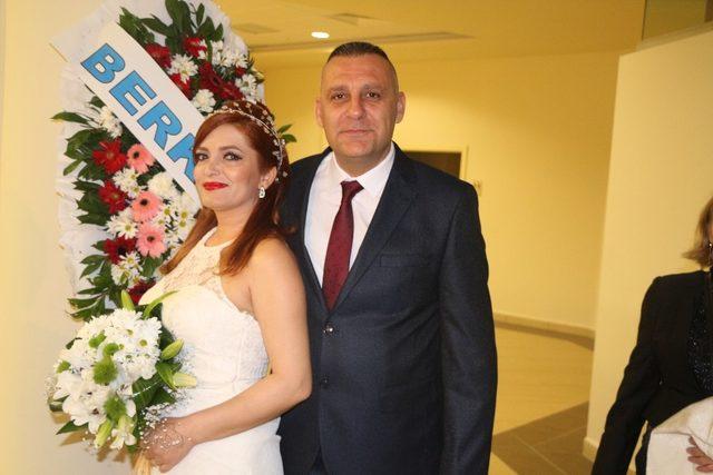 Sevgililer Günü'nde mutluluğa evet dediler