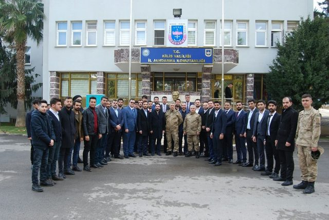 TÜGVA Genel Başkanı İsmail Emanet Kilis'te