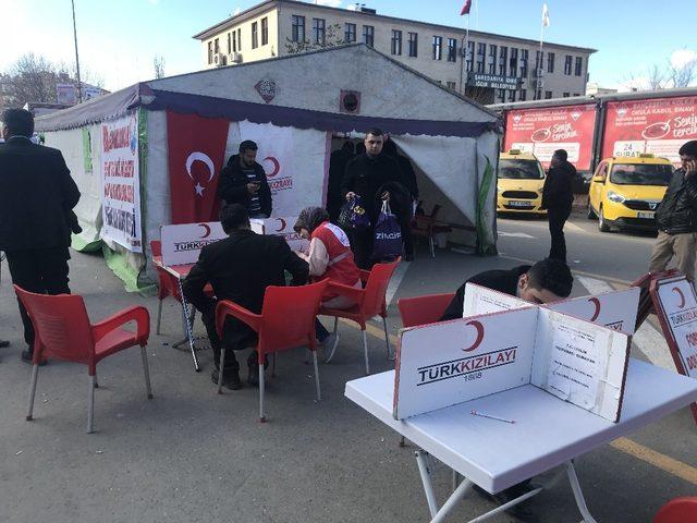 Afrin için kan bağışı
