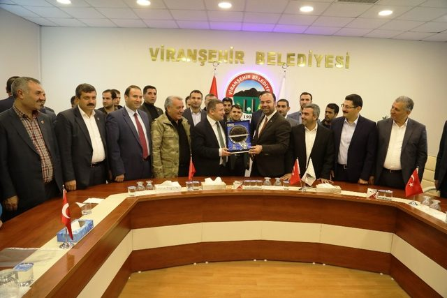 Viranşehir doğalgaza kavuşuyor