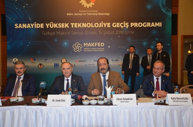 Bakan Özlü'den Sanayide Yüksek Teknolojiye Geçiş için destek vurgusu