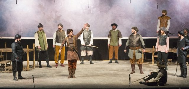 'Osmancık' sahnelendi