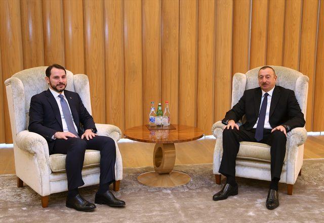 Enerji ve Tabii Kaynaklar Bakanı Albayrak, Azerbaycan'da