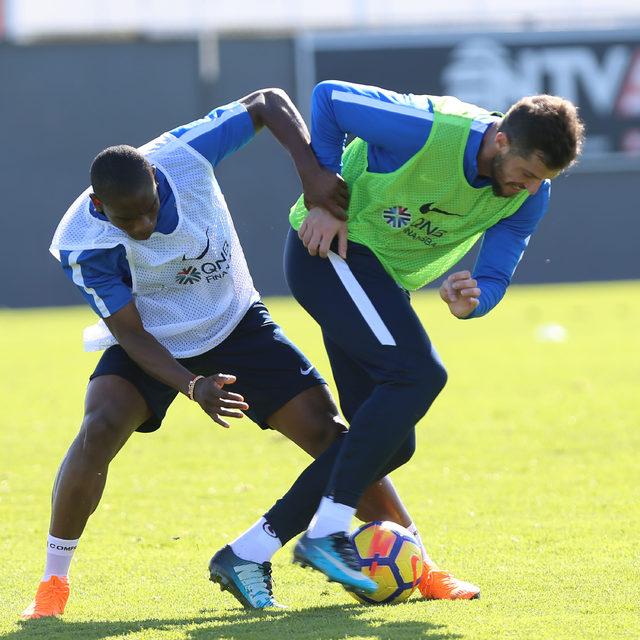 Trabzonspor, Medipol Başakşehir maçı hazırlıklarını sürdürdü