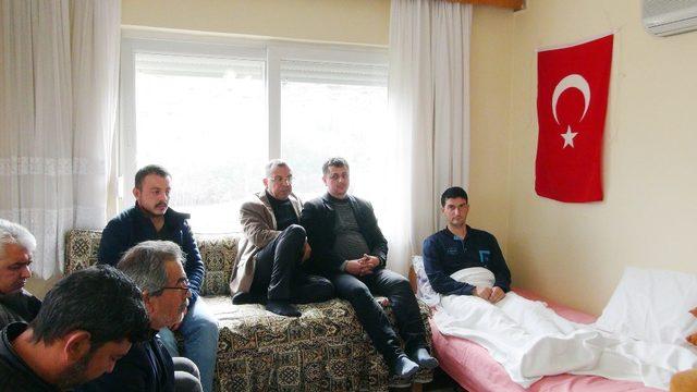 Afrin gazisi Astsubay Hüseyin Çakır baba ocağı Silifke'ye getirildi