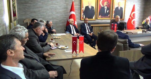 Kdz. Ereğli AK Parti Teşkilatı Demirtürk'ü ziyaret etti