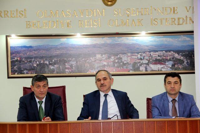 AK Parti Giresun Milletvekili Geldi'nin Suşehri temasları