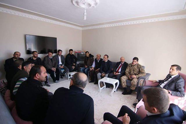 Kaymakam Erat'tan Afrin gazisine ziyaret