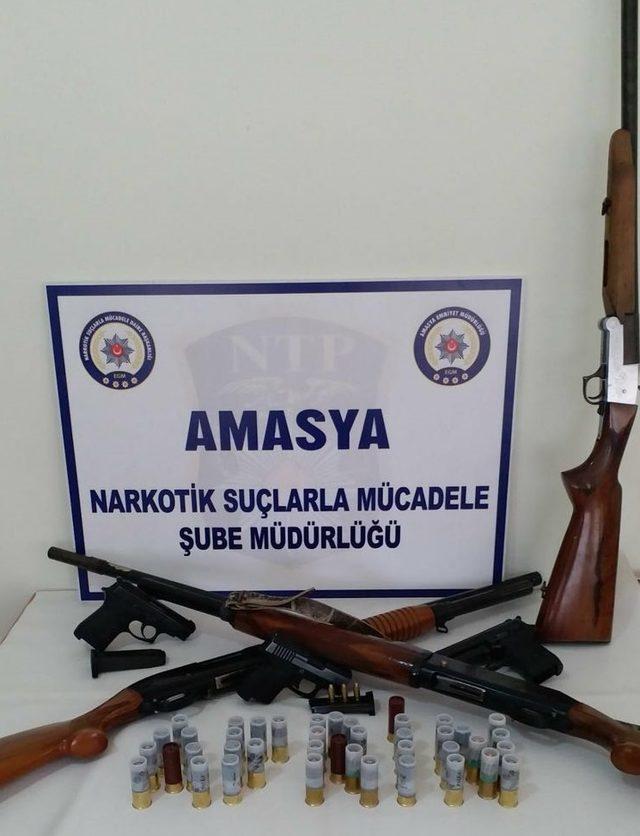 Amasya merkezli suç örgütüne 9 gözaltı