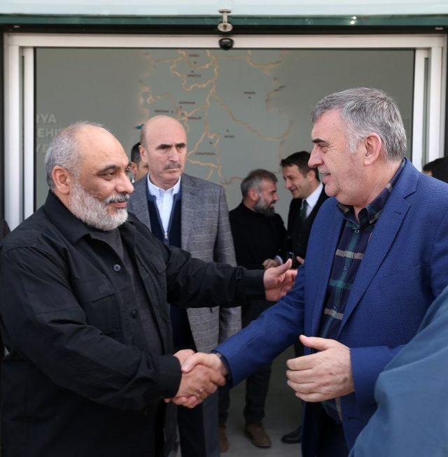 Başkan Toçoğlu, İHH Genel Başkanı Yıldırım ile bir araya geldi