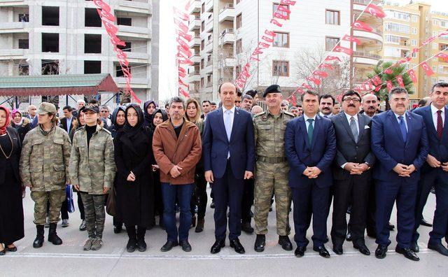 Afrin şehidi teğmenin adına memleketinde kütüphane açıldı