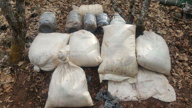 PKK'nın Tunceli'deki patlayıcı imal ettiği 4 sığınak imha edildi