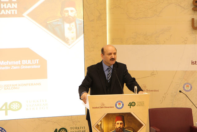 2'nci Abdülhamid İstanbul Sabahattin Zaim Üniversitesi'nde anlatılıyor