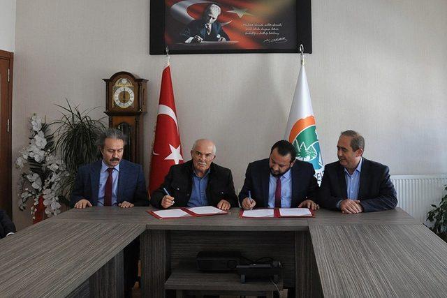 Hayırsever işadamından KMÜ'ye Ermenek'te yeni eğitim binası
